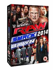 WWE The Best Of Raw And Smackdown 2014 3er [DVD] NEU