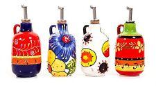 SPAGNOLO ceramiche dipinte a mano Olio Drizzler-Brand New-Varoius Designs