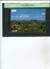 P567 # MALAYSIA USED PICTURE POST CARD * PANORAMIC VIEW OF KUALA TRENGGANU