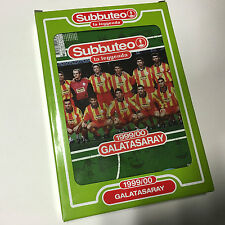 GALATASARAY 1999/00 SUBBUTEO SQUADRA CALCIO Legends La Leggenda Team