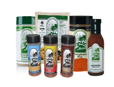 Everglades Seasoning BUNDLE Moppin BBQ Sauce Rub Cactus Dust Heat Fish Chicken