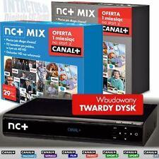NC + ncplus prépayé: HDTV twin sat nrec 250gb récepteur + Canal + 1 mois gratuit!
