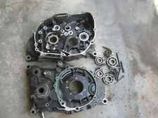 1983 honda xr350r - engine crankcase right and left sides