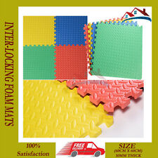 24 X SOFT EVA FOAM INTERLOCKING GYM FLOOR EXERCISE YOGA MAT KIDS CRAWL PLAY MATS