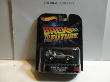 Hot Wheels Retro Entertainment Back to the Future Time Machine Mr. Fusion