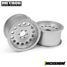 VANQUISH INCISION METHOD 2.2 MR307 CLEAR ANODIZED BEADLOCK RIMS IRC00101 AXIAL