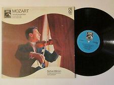 Nathan Milstein Mozart Violin Erich Leinsdorf Original EMI Holland Import LP