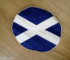 SPARE WHEEL COVER SCOTISH - SCOLAND FLAG LOGO. 10 INCH FOR LAMBRETTA GP-LI-SX-T