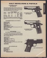 1986 COLT Government MKIV Series 80, Gvt 380, 45 Officer's ACP PISTOL AD*