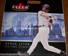 DEREK JETER -TWIN TOWERS BEF 9-11 -TWO (2) VINYL BAGS-NEW YORK YANKEES-NY HARBOR