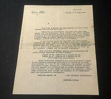 Lettre De Lu Lefèvre Utile Nantes A Ses Détaillant 1934