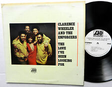 CLARENCE WHEELER Enforcers LP The Love I'Ve Been WHITE LABEL PROMO