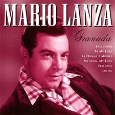 MARIO LANZA ~ GRANADA NEW + SEALED CD ALBUM * BE MY LOVE,DIANE, SERENADE + MORE