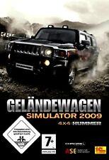 Geländewagen Simulator 2009 4x4 Hummer Offroad für Pc Neu/Ovp