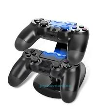 For PlayStation PS4 Controller LED Charger Dock Station USB Fast Charging Stand