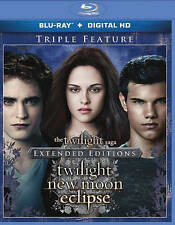 THE TWILIGHT SAGA: TWILIGHT/NEW MOON/ECLIPSE (NEW BLU-RAY)