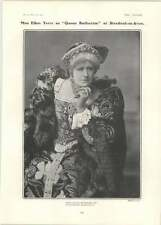 1902 Miss Ellen Terry As Queen Katharine Shakespeare Festival