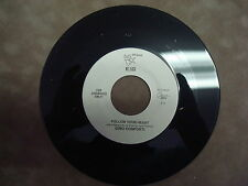"""GINO CONFORTI- FOLLOW YOUR HEART/ LET ME BE YOUR WINGS 7"""" 45 RPM"""