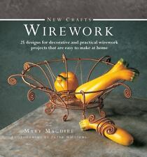 New Crafts: Wirework: 25 designs for decorative and practical wirework-ExLibrary