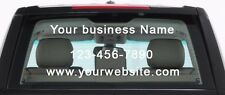 Your business Name Logo Custom text vinyl decal sticker
