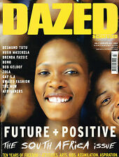 DAZED & CONFUSED 07/2004 South Africa Issue BRENDA FASSIE Morgane Dubled BONO