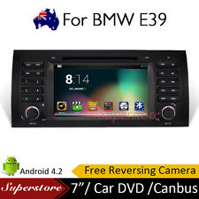 "7"" BMW X5 E39 Android 5.1 Car DVD GPS  Player Head Unit SERIES E38 E39 E39B  E53"