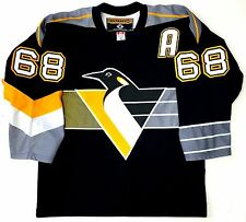 JAROMIR JAGR PITTSBURGH PENGUINS KOHO 3RD ALTERNATE AUTHENTIC JERSEY 48