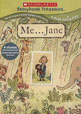 Scholastic Storybook Treasures: Me... Jane (DVD, SEALED, FREE SHIPPING)