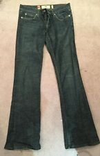 Juicy Couture Flared Dark Blue Denim Jeans US 26 Uk 8
