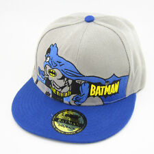 New Blue batman hiphop Cosplay Snapback Adjustable baseball cap flat hat Cartoon