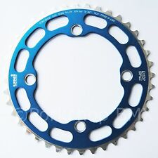 Porkchop BMX single speed bicycle Chop Saw I Chainring 40T 4 bolt 104 bcd BLUE