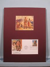 Lewis and Clark Expedition guided by Sacajawea & First day Cover