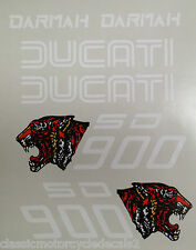 DUCATI DARMAH SD900 DECAL SET