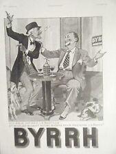 COMPOSITION 20ème PUBLICITE BYRRH LA BASTILLE