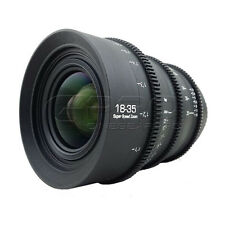 G.L Optics 18-35mm F1.8 PL Mount Rehoused Cine Lens (120 degree focus rotation)
