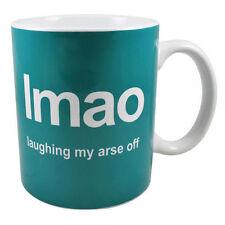LMAO ridere MY ASS arse OFF testo Internet parlare tè tazza da caffè Tazza mu2001