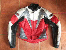 RST Motorcycle Motorbike Jacket Leather - Size UK 40, EU 50