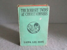 THE BOBBSEY TWINS AT CHERRY CORNERS 1927 Laura Lee Hope Children's Series