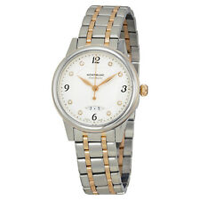 MontBlanc Boheme Automatic White Dial Stainless Steel and 18kt Rose Gold Ladies