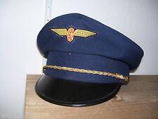 Schirmmütze  Mütze Bahn  Gr.56   Eisenbahn Kappe Uniformmütze Ungarn