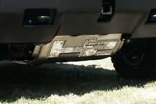 2007 2008 2009 HUMMER H2 2PC STAINLESS STEEL H2 NAME TRIM FOR BRUSH PLATE