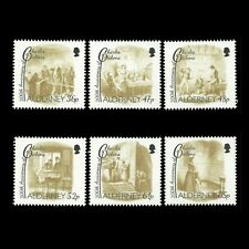 Alderney 2012 - 200th Anniv of the Birth of Charles Dickens Writer- Sc 434/9 MNH