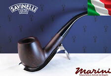 Pipa Pipe Capitol Bruyere by Savinelli radica verniciata scura 606 KS 9mm