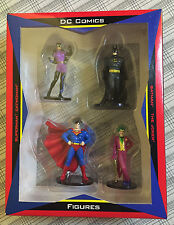 Batman Superman Catwoman Joker PVC Figure Set 4-Pack WBSS Exclusive 1999