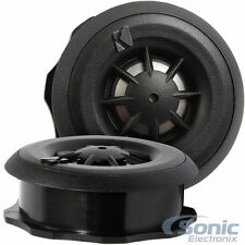 "Kicker CST204 3/4"" 100W RMS Surface/Angle/Flush Mount Car Stereo Dome Tweeters"
