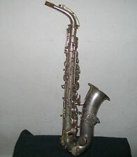 Antique Oliver Ditson Martin Stencil Saxophone # 151700 Low Pitch