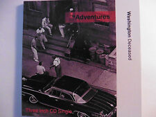 "The Adventures   Washington Deceased   3"" Maxi - CD   3 Tracks   1989   sehr rar"