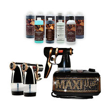 MAXIMIST ALLURE XENA BLING SUNLESS TANNING SYSTEM  W FREE TAMPA BAY TAN SPRAY