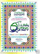 Holy Quran:Anglo Translittération, Tajweed,English Traduction,Card Rehal Box