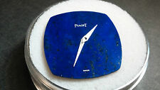 Piaget 9P Lapis Lazuli dial, blue with 2 hands, NEW